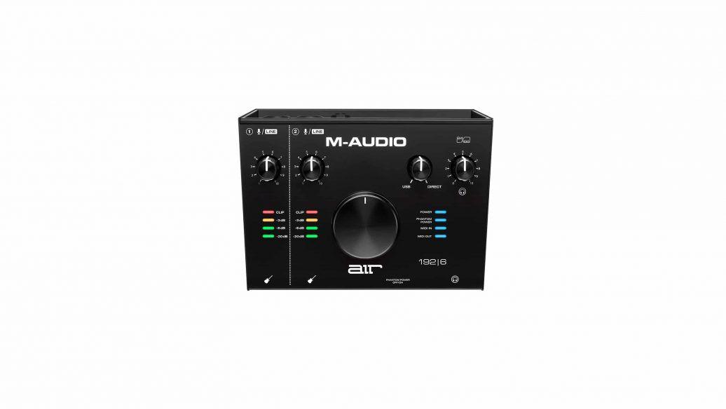 Interface de Áudio USB 2 Canais C/ MIDI IN/OUT AIR 192 6 ? MAUDIO