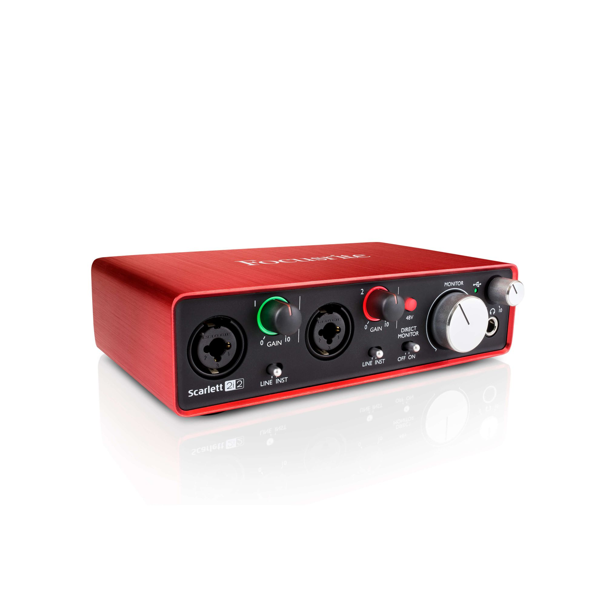 INTERFACE DE AUDIO USB 2ND-GN SCARLETT 2I2
