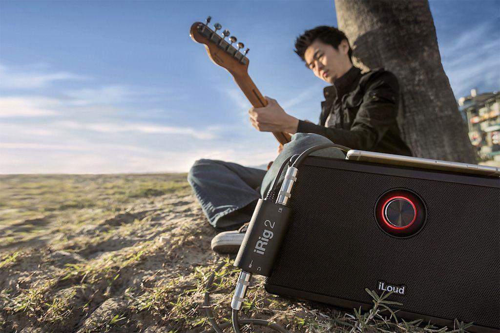 Interface de guitarra para iPhone, Android e Mac - iRig 2 - IK MULTIMEDIA