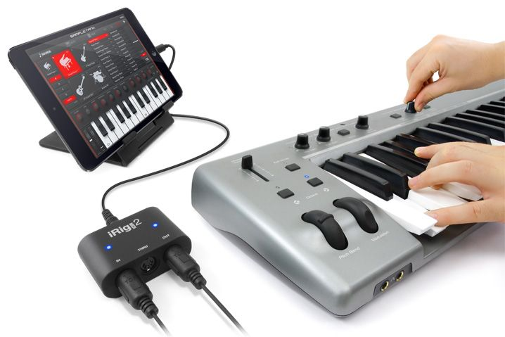 Interface MIDI universal - iRig MIDI 2 - IK MULTIMEDIA