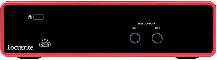 INTERFACE USB 2 CANAIS SCARLETT 2I2 (3RD GEN) - FOCUSRITE