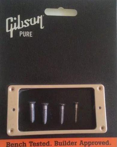 Kit Moldura Ponte + Braço Creme Guitarra Les Paul - Gibson