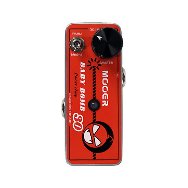 kit Pedaleira GE200 + Power Amp BABY BOMB - MOOER