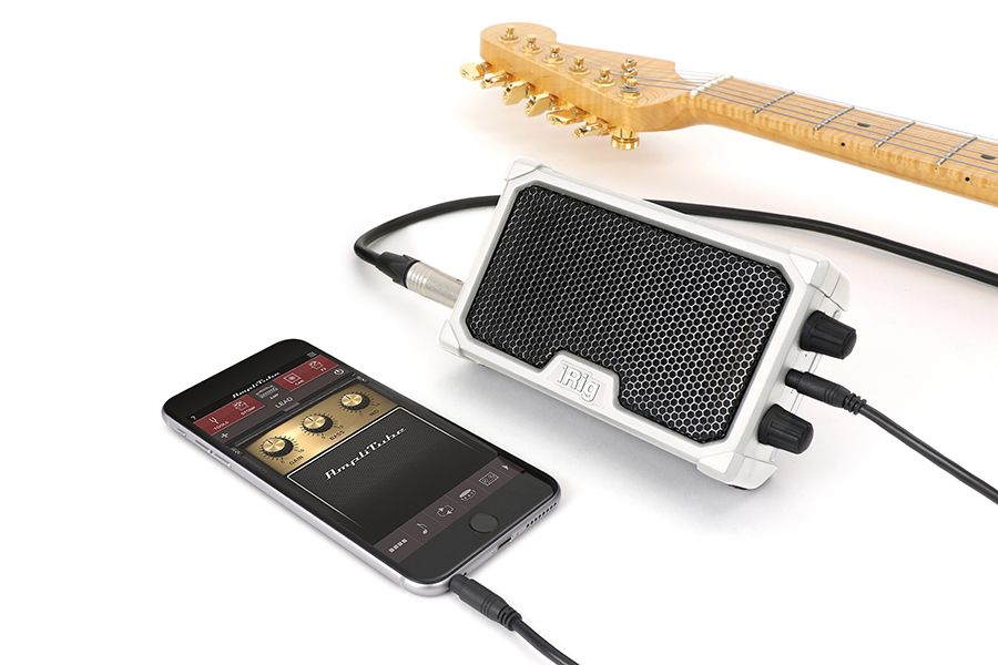 Micro amplificador com interface iOS (white) - iRig Nano Amp - IK MULTIMEDIA