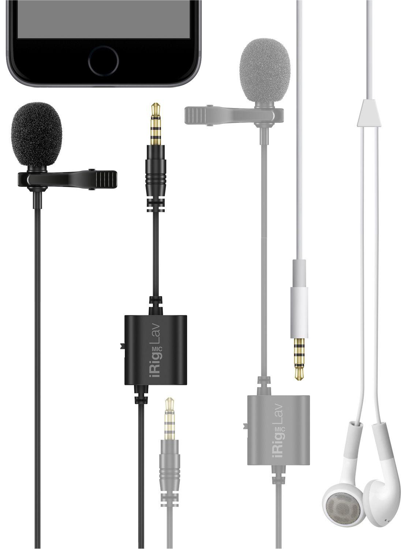 Microfone de lapela - iRig Mic Lav 2 Pack - IK MULTIMEDIA