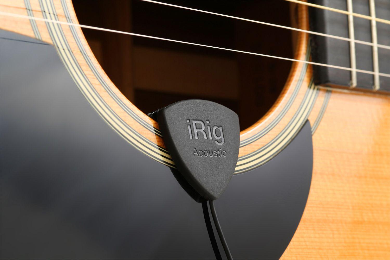 Microfone e interface para violão - iRig Acoustic - IK MULTIMEDIA