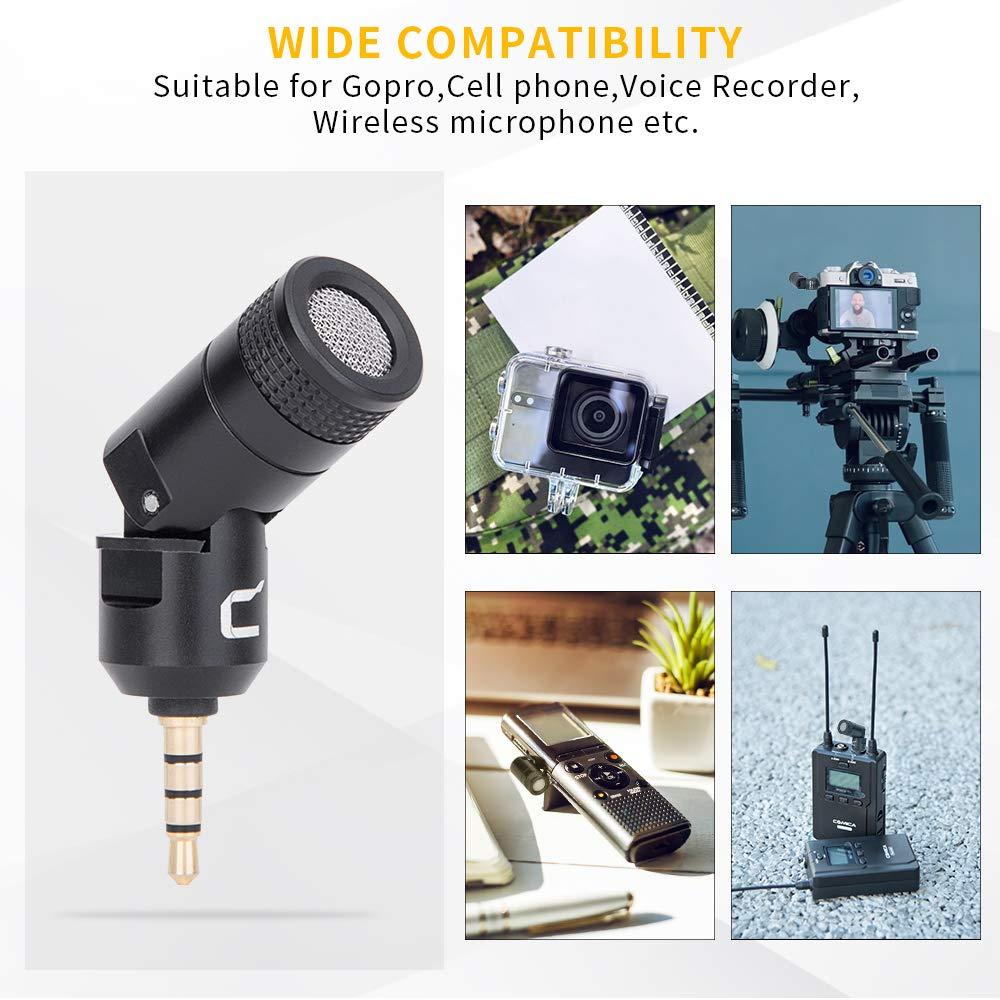 MINI MICROFONE CARDIÓIDE CAMERA SMARTPHONE CVM-VS07 - COMICA