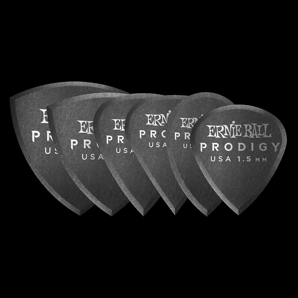 PALHETAS MULTIPACK PRODIGY 1.5MM C/6 P09342 - ERNIE BALL