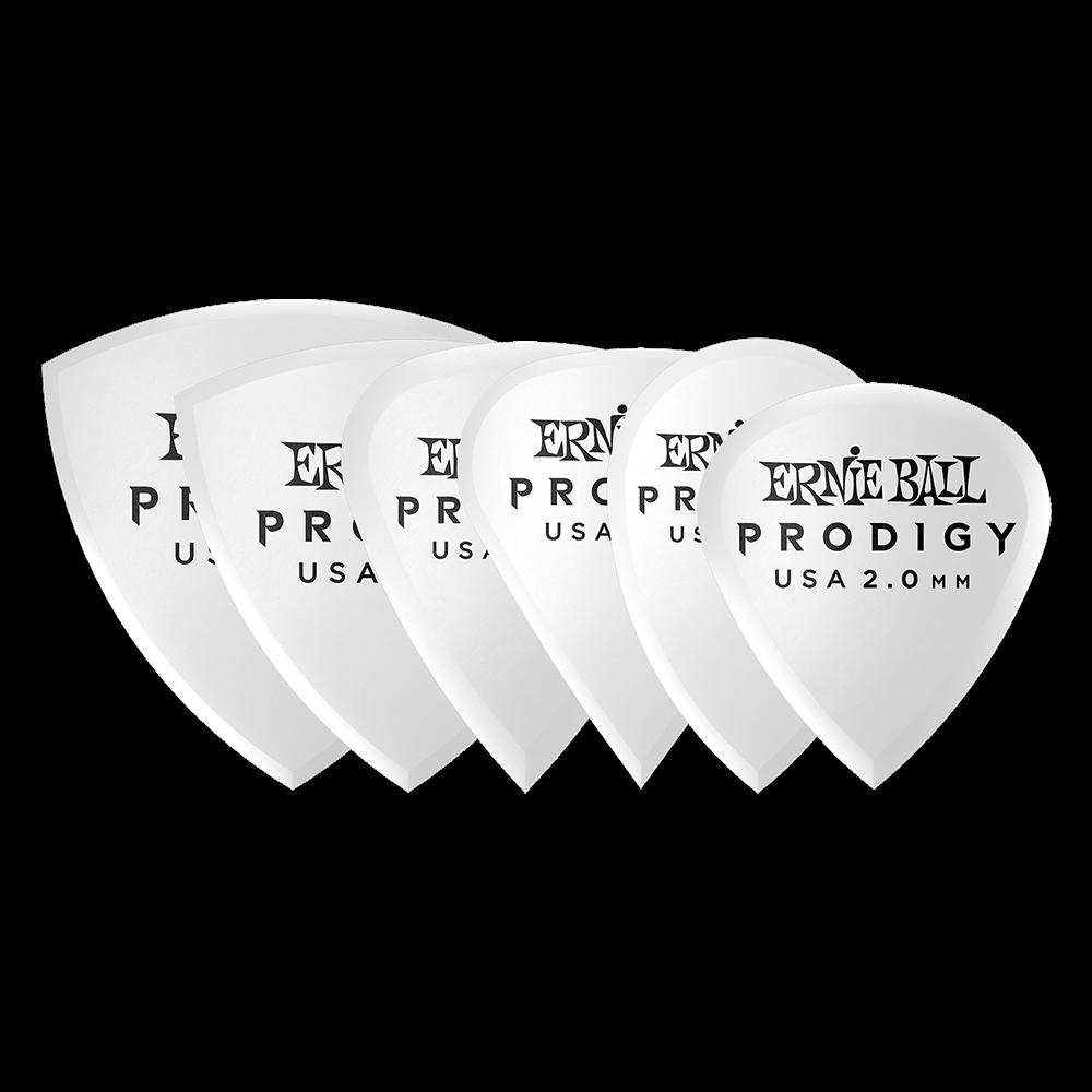 PALHETAS MULTPACK PRODIGY 2.0MM BCO C/6 P09343 - ERNIE BALL