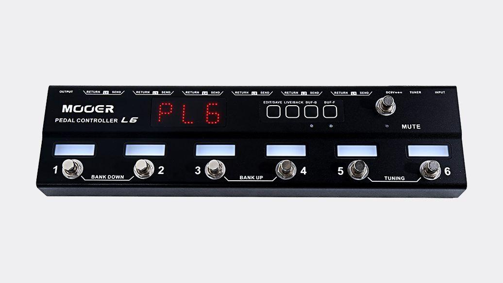 Controlador de Pedais - Pedal controler PCL6 - Mooer