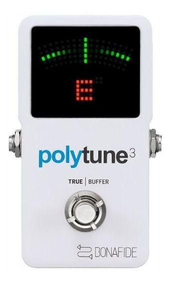 PEDAL AFINADOR POLYTUNE 3 C/ BUFFER - TC ELECTRONIC