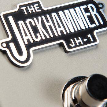 PEDAL DE DISTORÇÃO E OVERDRIVE PARA GUITARRA JH-1 PEDL-10024 - JACKHAMMER - MARSHALL