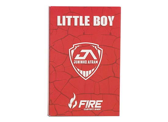 Pedal Distortion / Overdrive Little Boy Juninho Afram Signature - FIRE