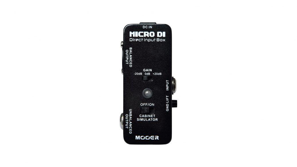 PEDAL MICRO DI DIRECT INPUT BOX MDI1 - MOOER