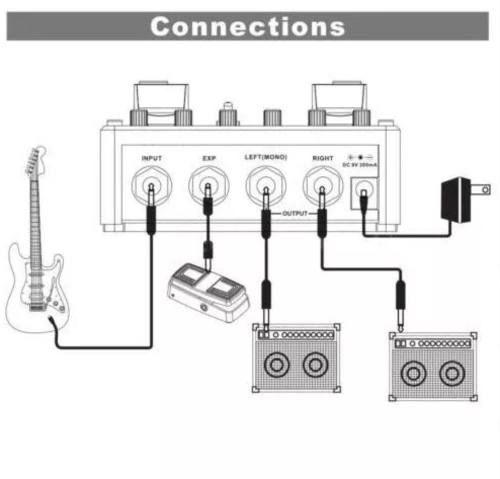 PEDAL MODULADOR P/ GUITARRA MOD FACTORY PRO TME1 - MOOER