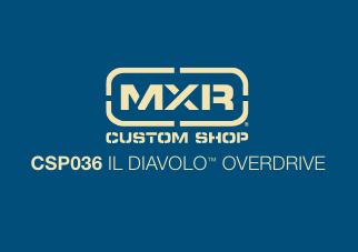 Pedal Overdrive Mxr Il Diavolo - Dunlop