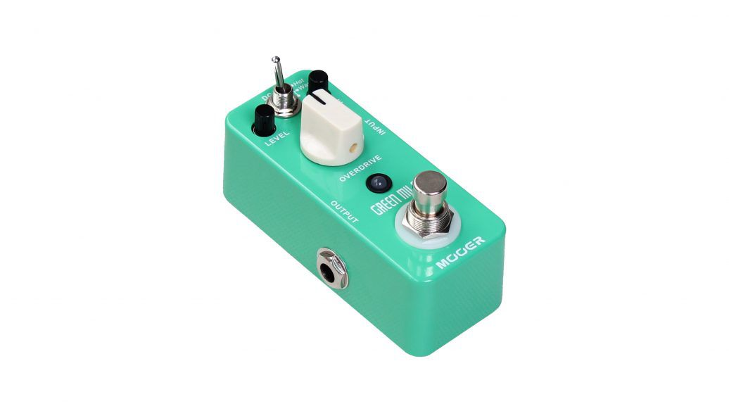 PEDAL OVERDRIVE GREEN MILE - MOOER