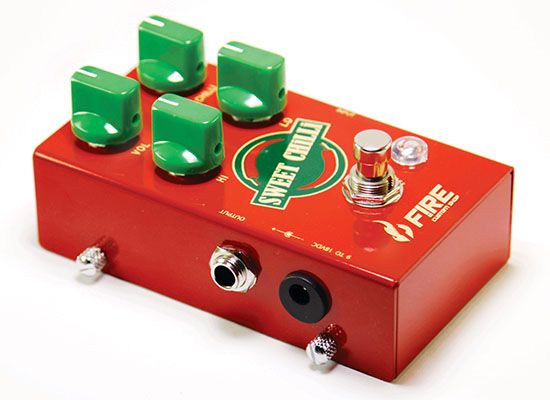Pedal Overdrive  Sweet Chilli - FIRE