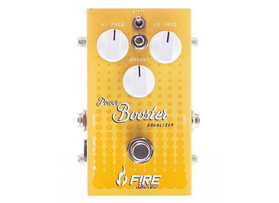 Pedal Power Booster - FIRE
