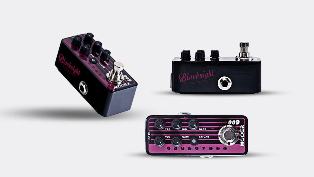 Pedal Pré-Amplificador 009 Blacknight - MOOER