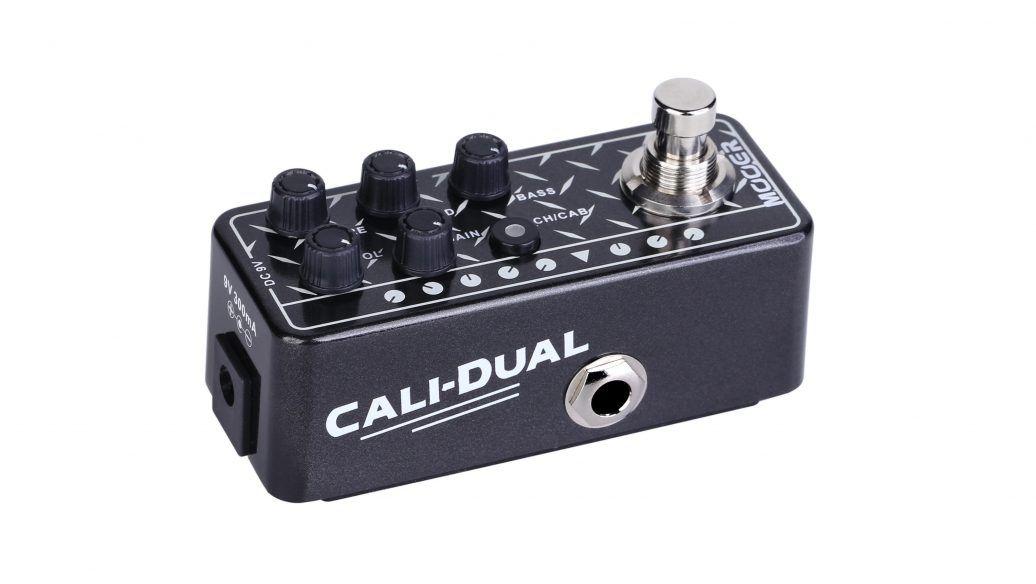 Pedal Pré-Amplificador M011 Cali-Dual - Mooer