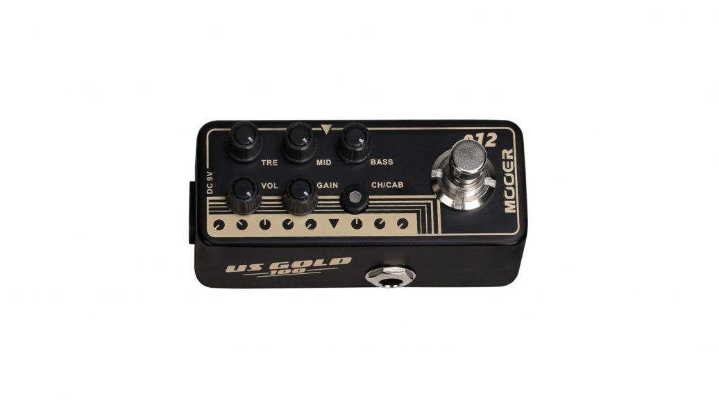 Pedal Pré-Amplificador M012 US Gold 100 - Mooer