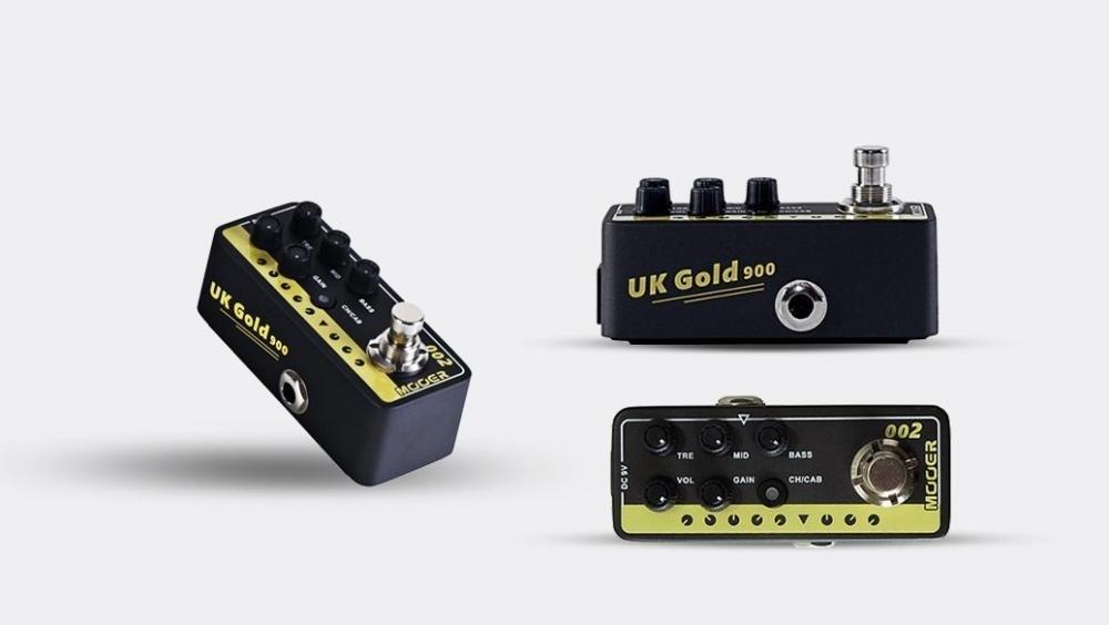 Pedal Pré-Amplificador UK Gold 900 M002 -  Mooer