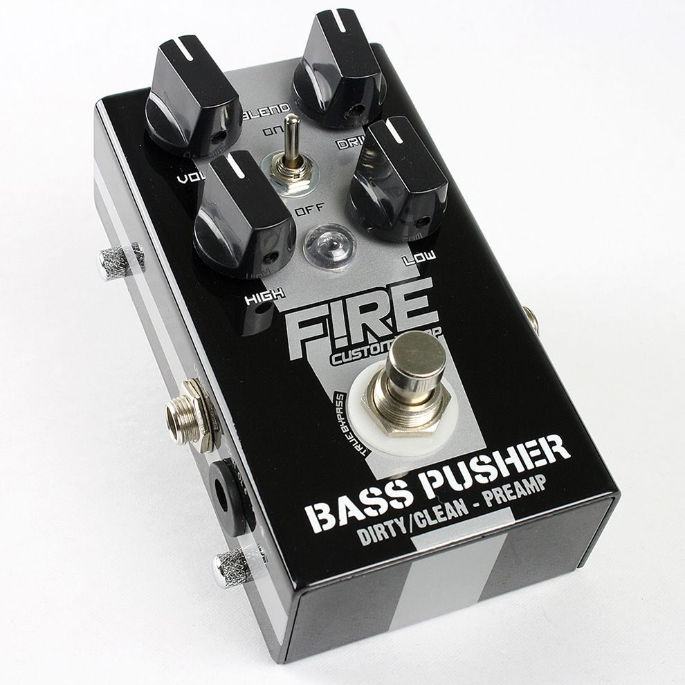 Pedal Preamp Bass Pusher - FIRE