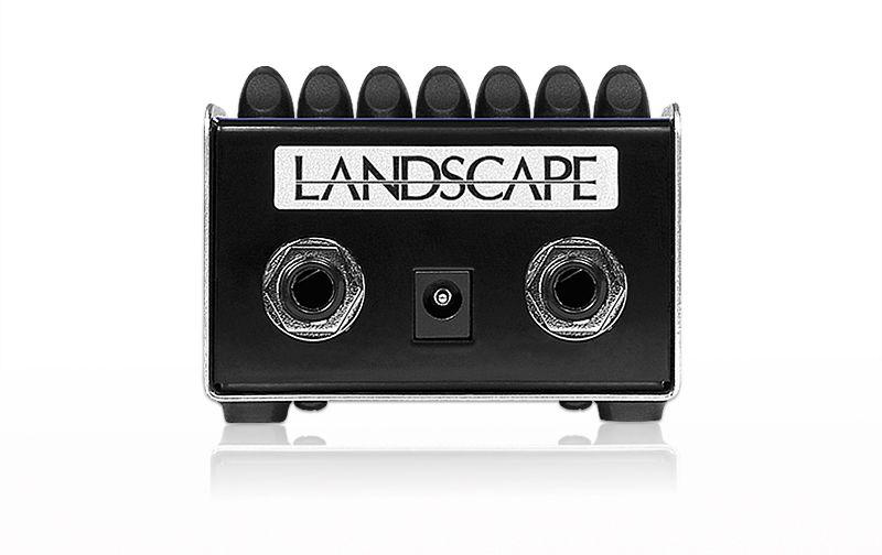 Pedal (processador) de efeito de áudio equalizador gráfico Bass Equalizer - BEQ1 - LANDSCAPE