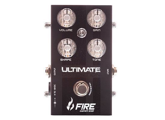 Pedal Ultimate Distortion - FIRE