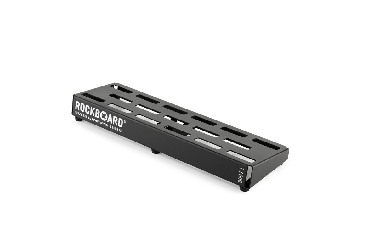 PEDALBOARD DUO 2.1  COM GIG BAG 49 x 18 x 10 CM - ROCKBOARD