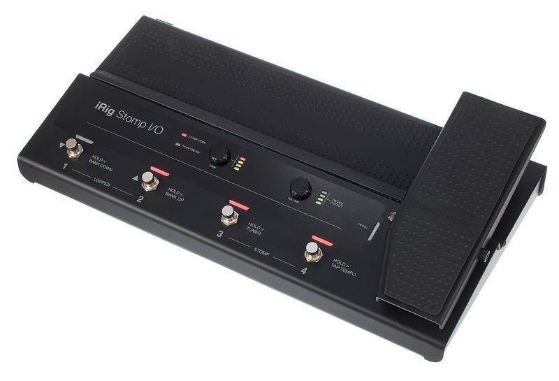 PEDALEIRA IRIG Stomp I/O USB - IK MULTIMEDIA