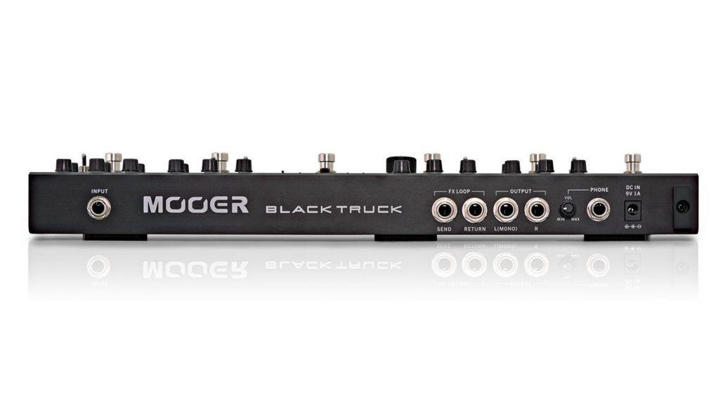 Pedaleira Multi-Efeitos Black Truck CPT2 ? Mooer