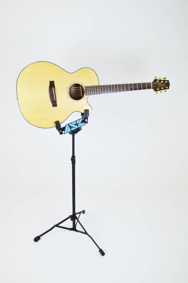 Pedestal para violão ou guitarra com ajuste para o corpo do instrumento - EGV - ASK
