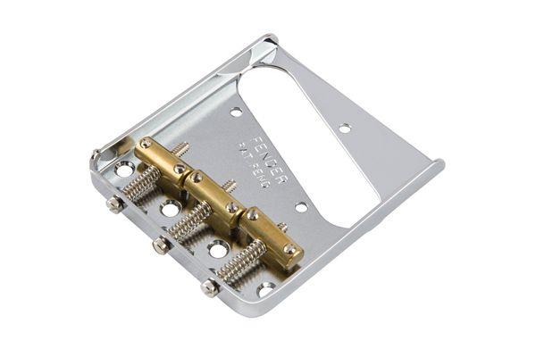 PONTE 3 SADDLES TELECASTER VINTAGE CROMADA - FENDER