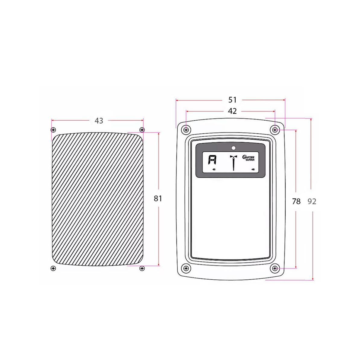 Pré Amplificador Crafter CR-T 3T com Battery Box