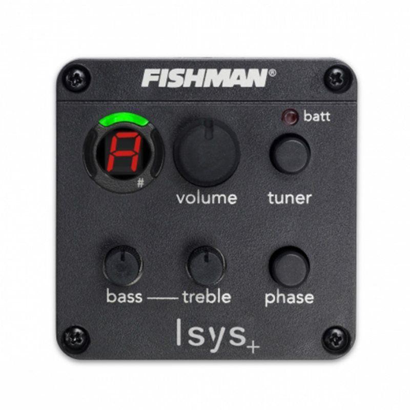 Pré-equalizador ISYS + OEM-ISY-301 com captador Sonicore - FISHMAN