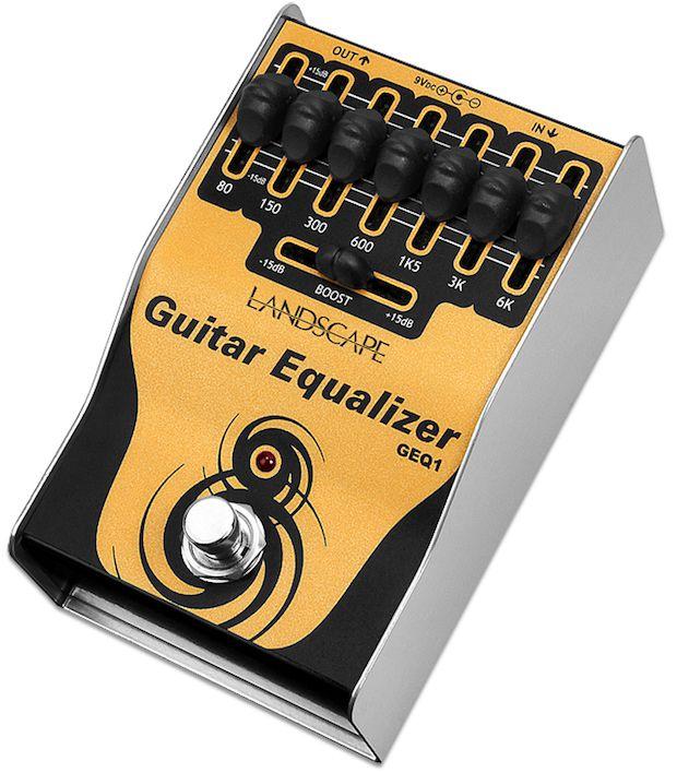 Processador de efeito de audio Guitar Equalizer (pedal equalizador gráfico) GEQ1 - LANDSCAPE