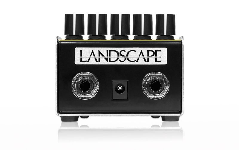 Processador de efeito de audio Organic Drive & Booster ODB2 - LANDSCAPE