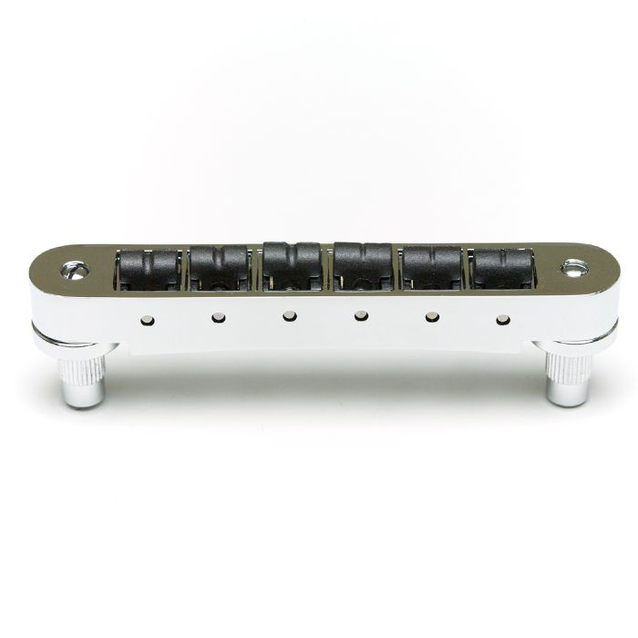 PS-8843-C0 - RESOMAX - PONTE TIPO TUNE-O-MATIC STRING SAVER NV2 AUTOLOCK 4mm CROMADA - GRAPHTECH