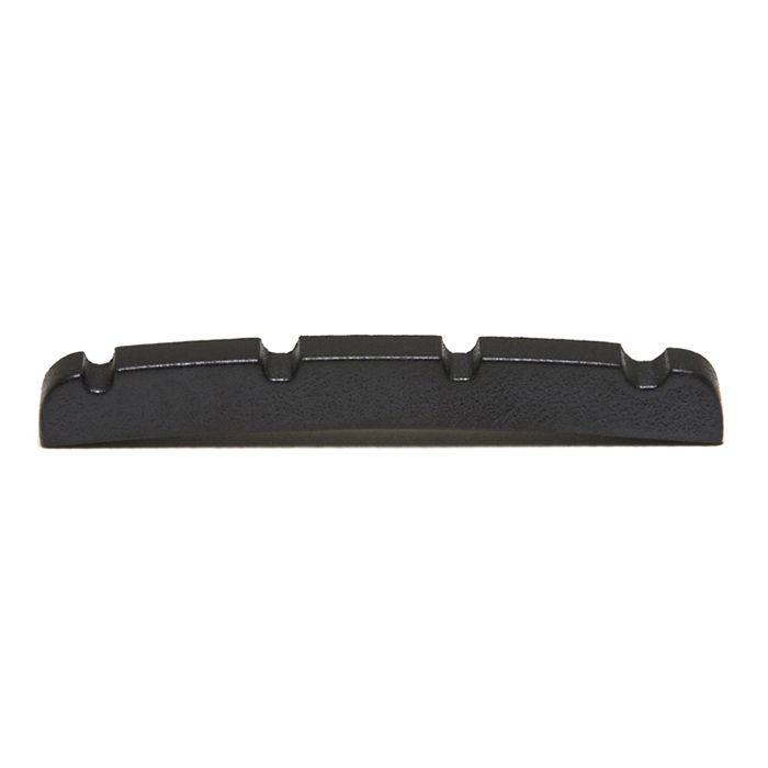 PT-1214-00 - BLACK TUSQ XL - NUT COM SLOTS PARA BAIXO TIPO FENDER JAZZ BASS 4 CORDAS - GRAPHTECH