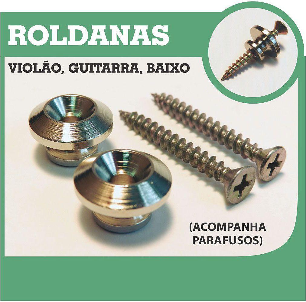 ROLDANA PARA GUITARRA, VIOLÃO OU BAIXO (BLISTER COM 2 PC) - RD 02 - BASSO