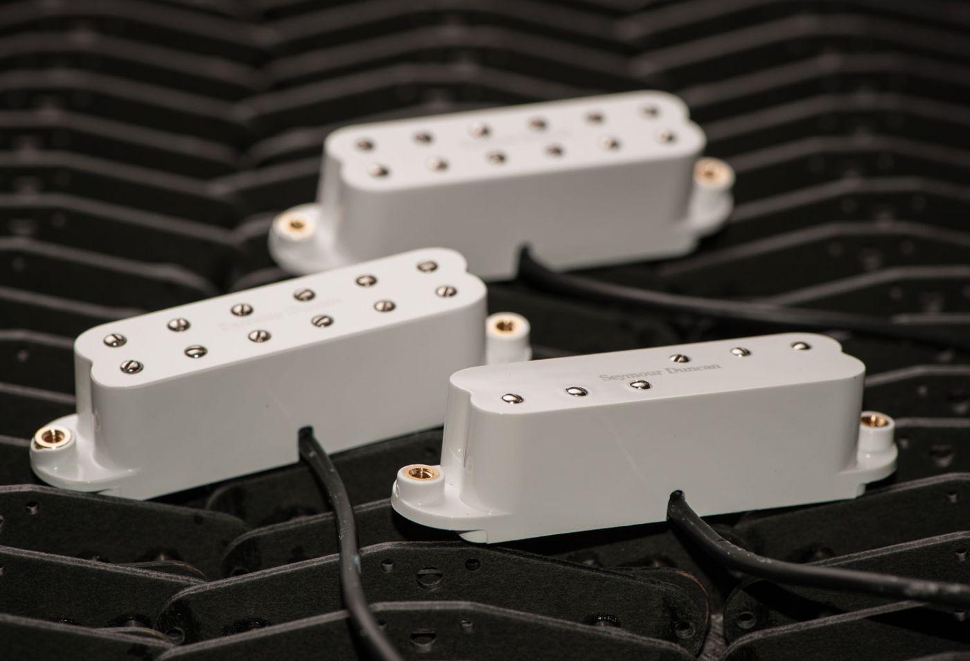 Set Captadores Mini Humbucker Everything Axe White 11208-15-W - SEYMOUR DUNCAN