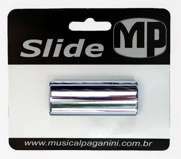 SLIDE PARA GUITARRA METAL 22MM CROMADO PSG 222 - PAGANINI