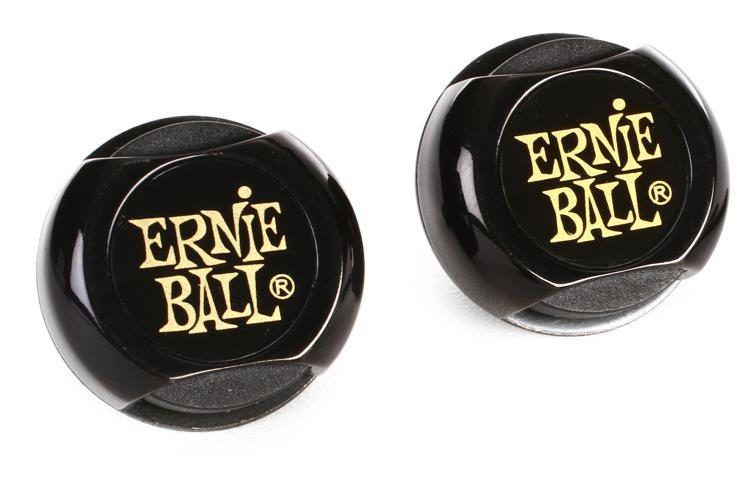 STRAP LOCK TRAVA P/ CORREIA SUPER LOCKS PRETO P04601 ERNIE BALL
