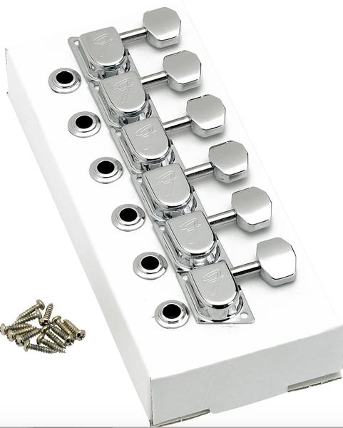 Tarraxa Guitarra Stratocaster / Telecaster 70S F STYLE Cromada FENDER