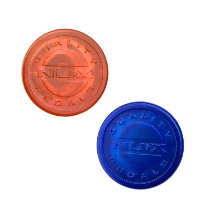 TOPPER PARA PEDAL (FOOTSWITCH CAP) COLORIDO C/ 5 PCS - NST-1 - NUX