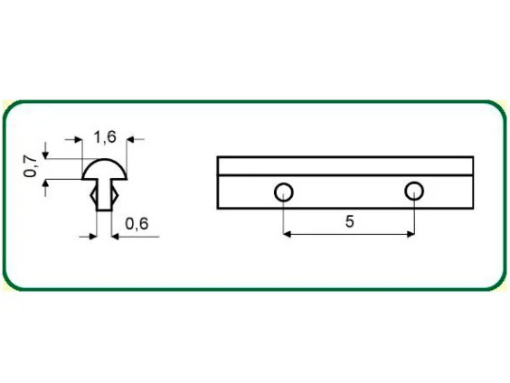 TRASTE PARA UKULELE / CAVACO / BANDOLIM ( 3M ) - N68 - VAN GENT
