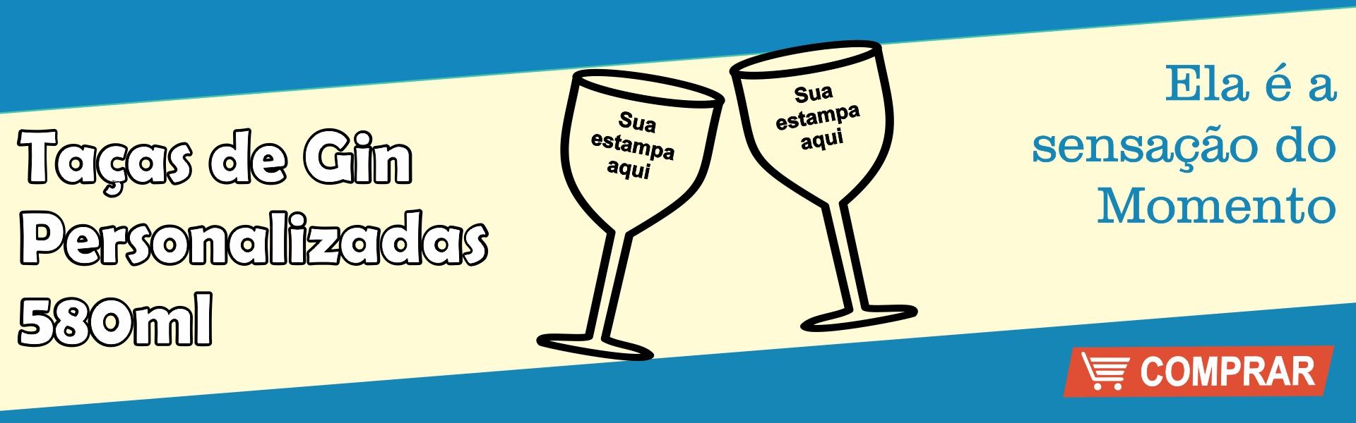 TAÇAS DE GIN PERSONALIZADAS