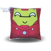 Kit com 10 Almofadas Cute Baby Personalizada Homem de Ferro